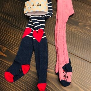 LILLY & SID BABY GIRL TIGHTS 3-6